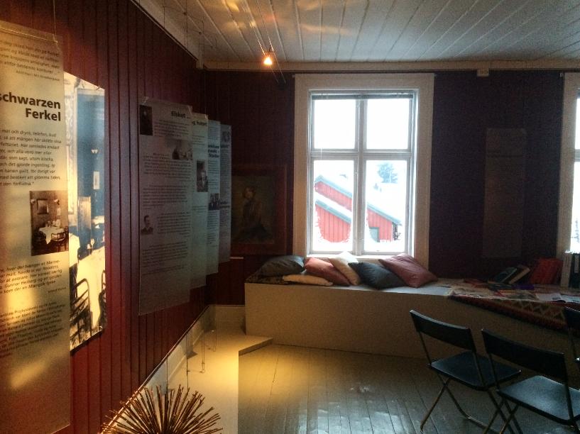 Damen i Berlin, oversiktsbilde rommet 2, foreløpig (Foto/Photo)