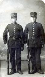 Eirik Aalrust (1888 -  ) og Mekkel Huso (1890 -  )