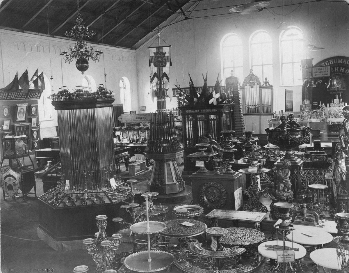 Industri- och Hemslöjdsutställningen i Örebro 1883.