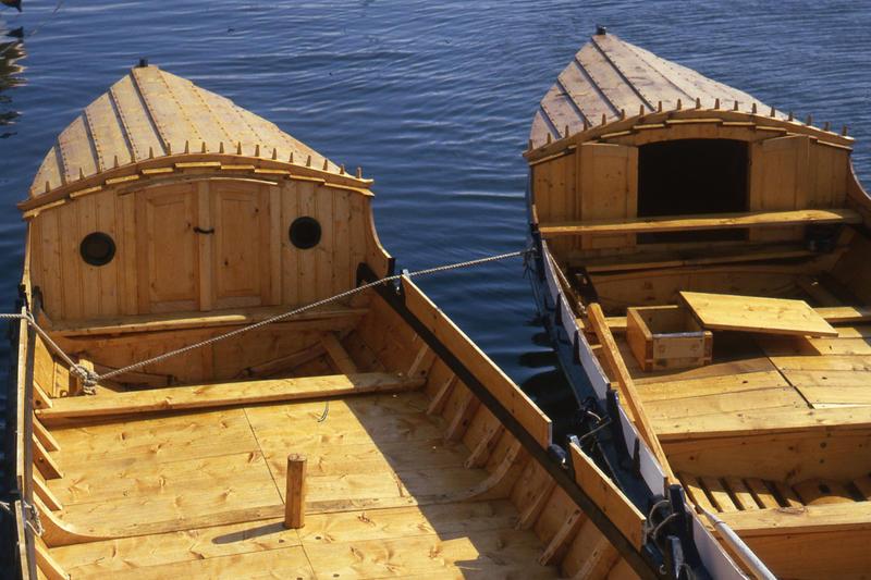 Firingen har ikke tradisjonelt hatt løfting, men mange syns det er praktisk med et lite krypinn på turbåten. (Foto/Photo)