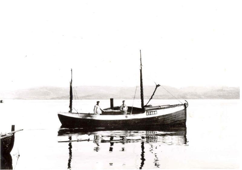 En gammel børsabåt.