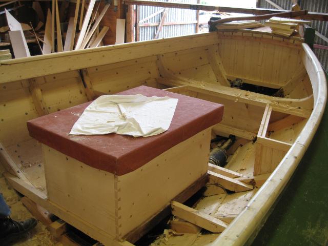 Om bord i Bjørg, bygd 2004.