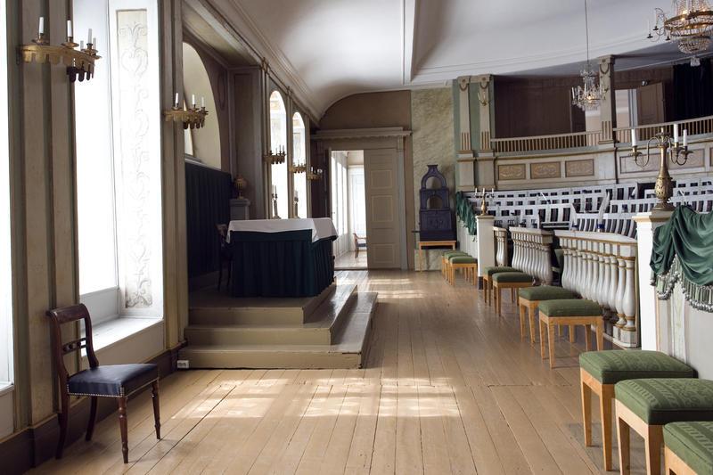 Stortingssalen på Norsk Folkemuseum