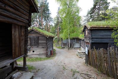 Husmannsplassen fra Trøndelag på Norsk Folkemuseum