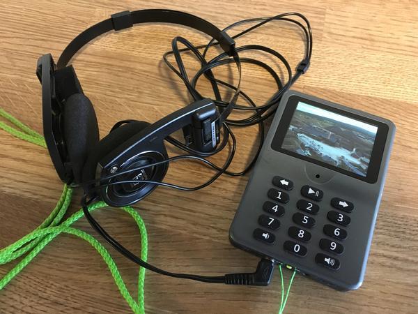 Audioguide. Foto/Photo