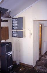 Radiostasjon Ny-Ålesund, Svalbard, interiør før restauering