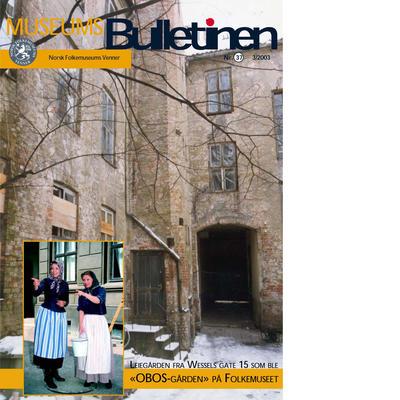 Museumsbulletinen 2003/3