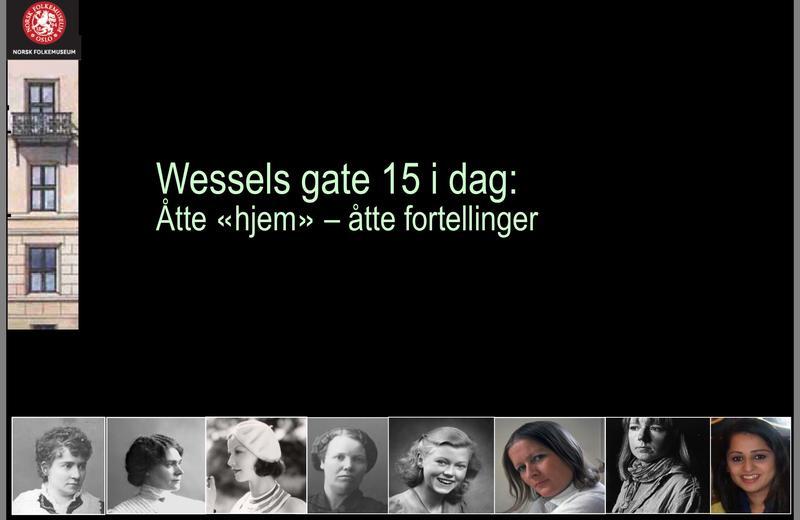Foredrag om Wessels gate 15