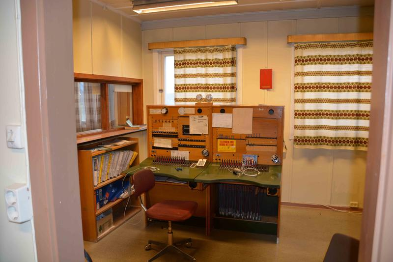 The last manual telephone exchange in Norway (Foto/Photo)