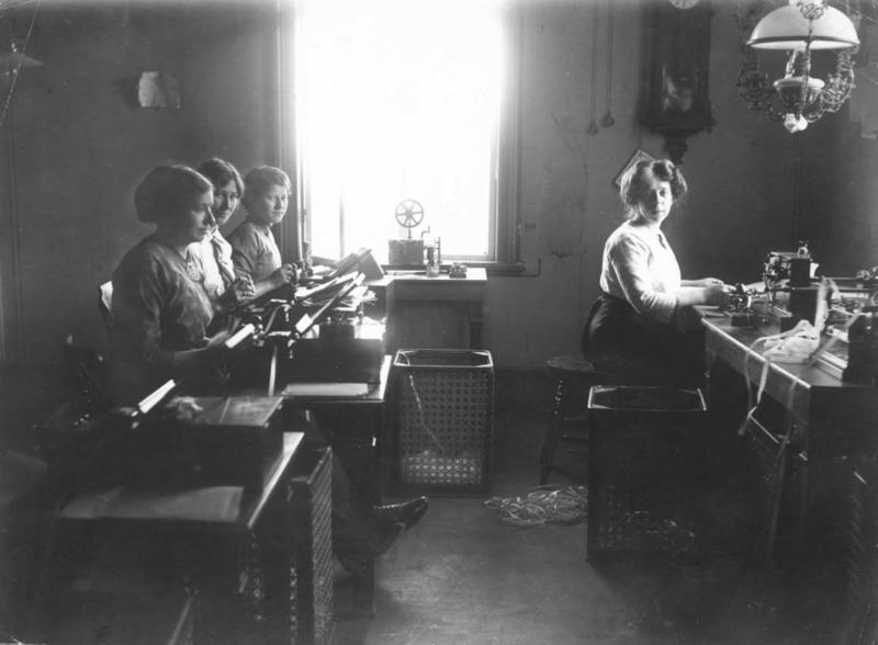 Telegrafstasjoner Lødingen interiør historisk