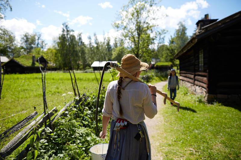 Sommer i Friluftsmuseet på Norsk Folkemuseum