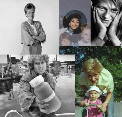 Portretter fra 80-tallet. Foto/Photo