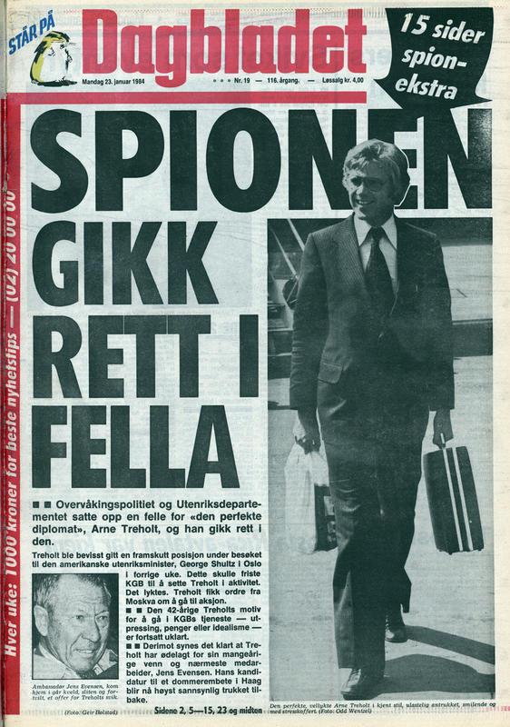 Dagbladet  1984 (Foto/Photo)