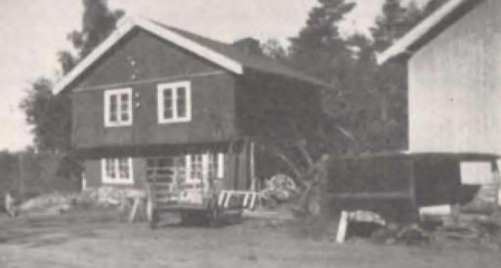 Smia på Haugen, midt i 1920-årene.
