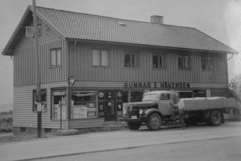 Ny forretningsgård 1935.