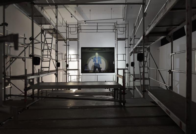 Lars Laumann, Season of Migration to The North, 2015. Installation view, Kunstnernes hus 2015. (Foto/Photo)