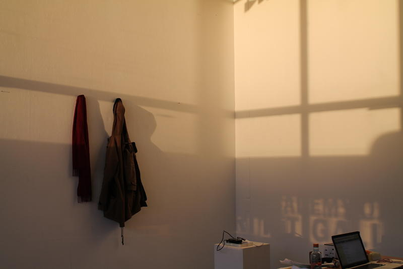 "Hilde Pytkowski: Installation shot,""Markers"", 2017"