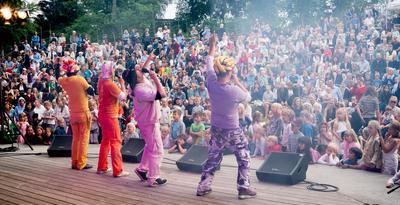 Familiekonsert på Festplassen.