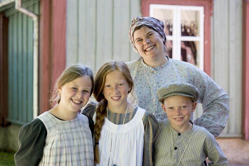Arbeiderfamiliens hverdag på Enerhaugen, slik vi gjenskaper den på Norsk Folkemuseum.