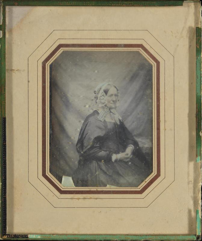 Portrett Betzy Anker 1849