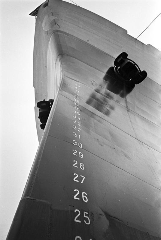 MS Cardo bygges på Aker Mek.verksted. Fotografert okt-nov. 1963. (Foto/Photo)