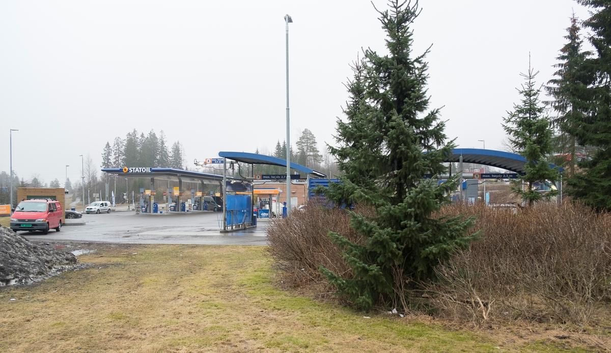 Statoil bensinstasjon Strømsveien Fjellhamar Lørenskog