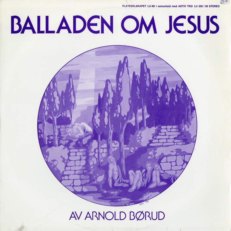 Den første innspillingen av Balladen om Jesus ble gitt ut på selskapet Lu-Mi i 1974. I 1984 ble den spilt inn i ny versjon som ble gitt ut på Arnolds eget selskap Tvers forlag.