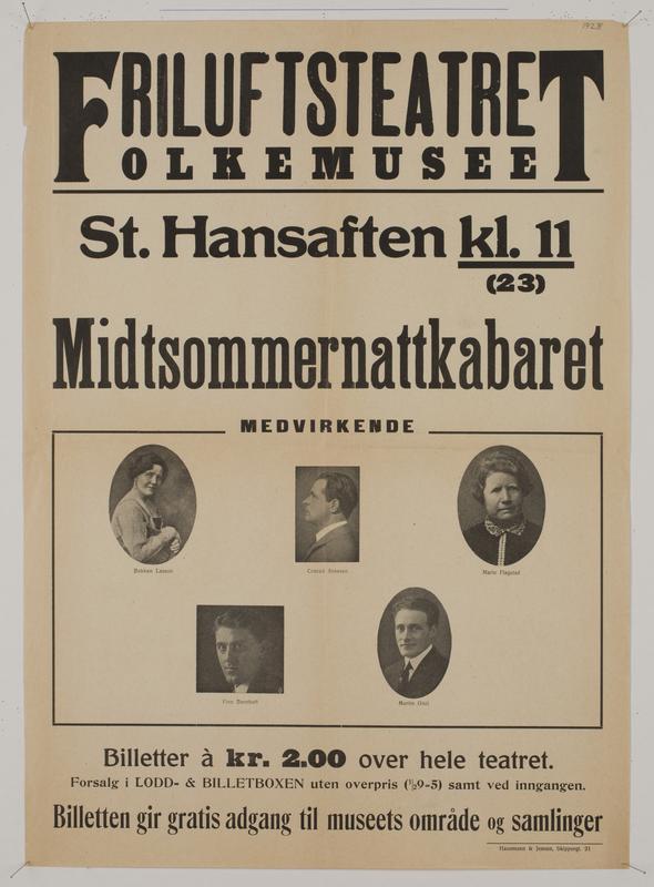Teaterplakat NF.34668-078