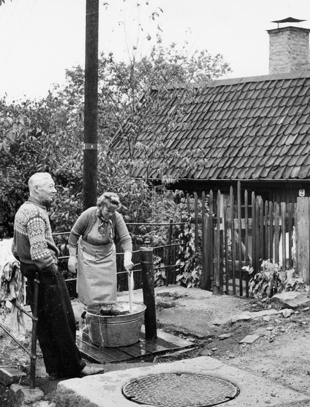 Vannpost på Enerhaugen