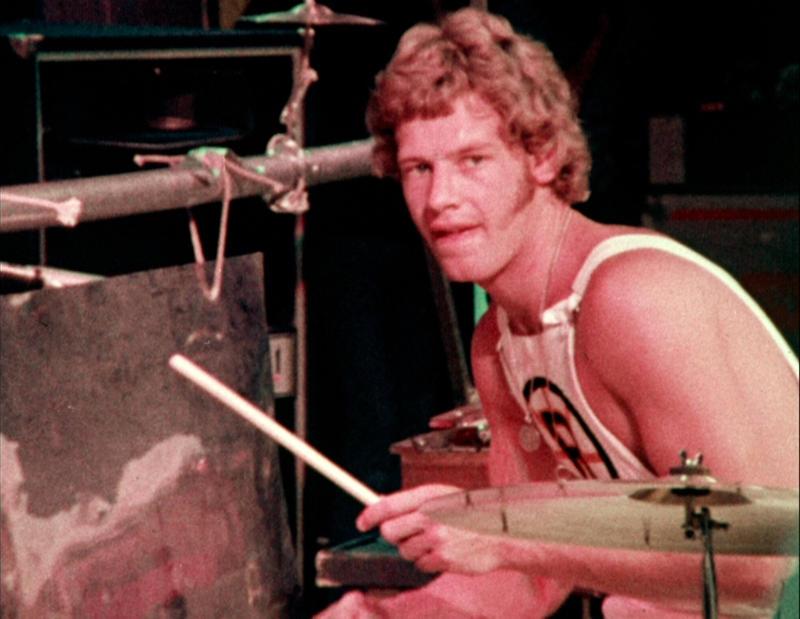 Bill Bruford med King Crimson i New York City, 1973. (Foto/Photo)