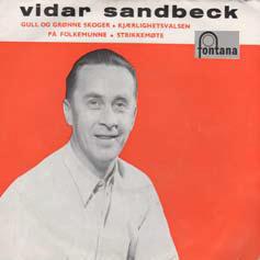 Vidar Sandbeck EP nr. 4 (Foto/Photo)