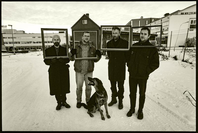 Skrømt og Torvald på Svartlamon 1997. Foto: Aage Asphaug