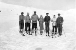 Påsketuristar ca 1930