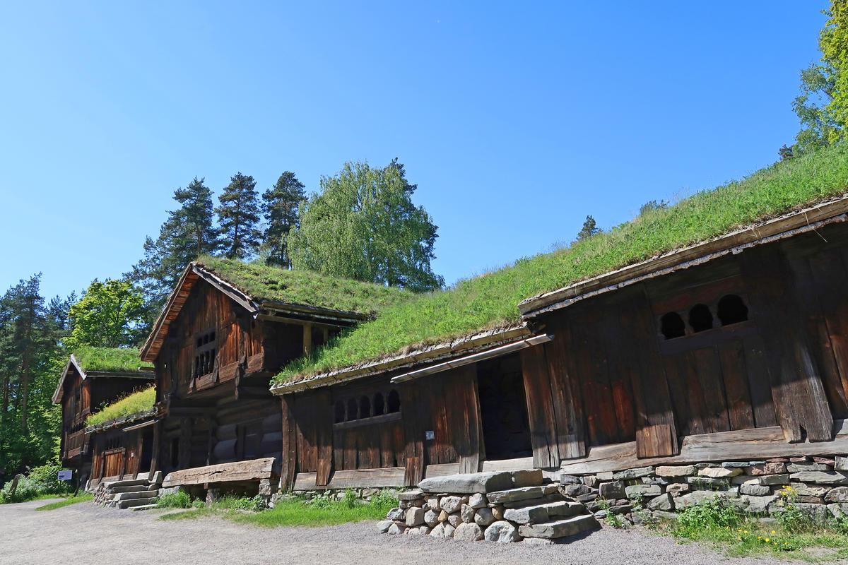 Tun fra Setesdal, Norsk Folkemuseum 22.05.2018. Foto: Astrid Santa, Norsk Folkemuseum