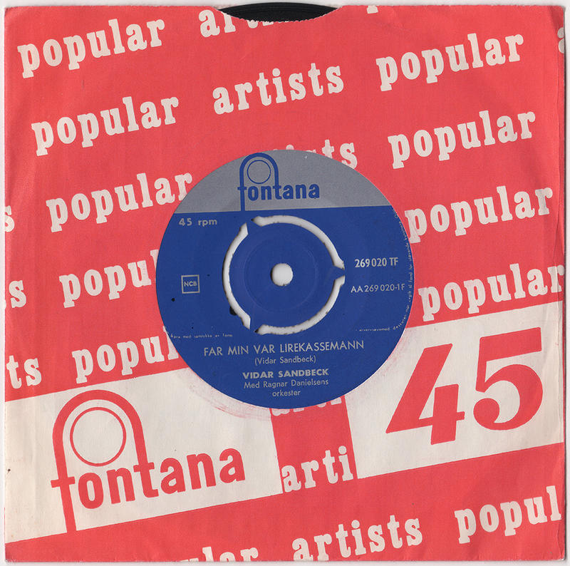 Vidar Sandbeck single nr. 10