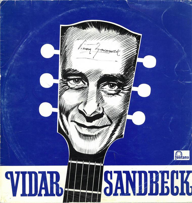 Vidar Sandbeck første LP (Foto/Photo)