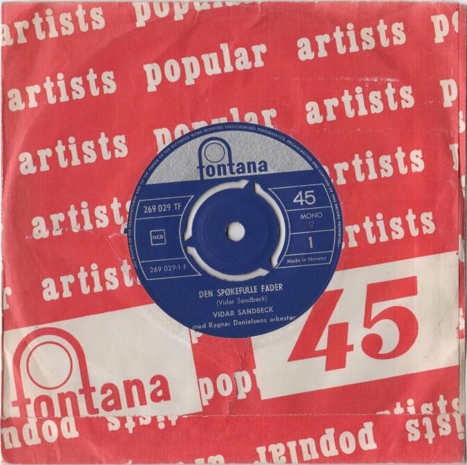 Vidar Sandbeck single nr. 15