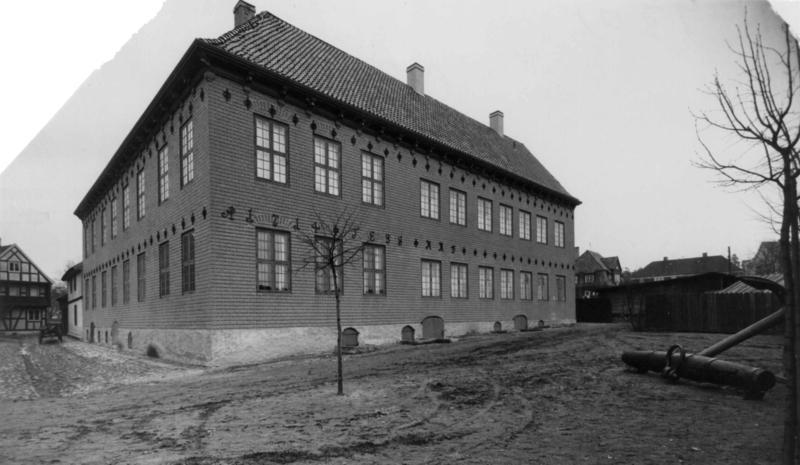 Norsk Sjøfartsmuseums bygning, 1933. (Foto/Photo)