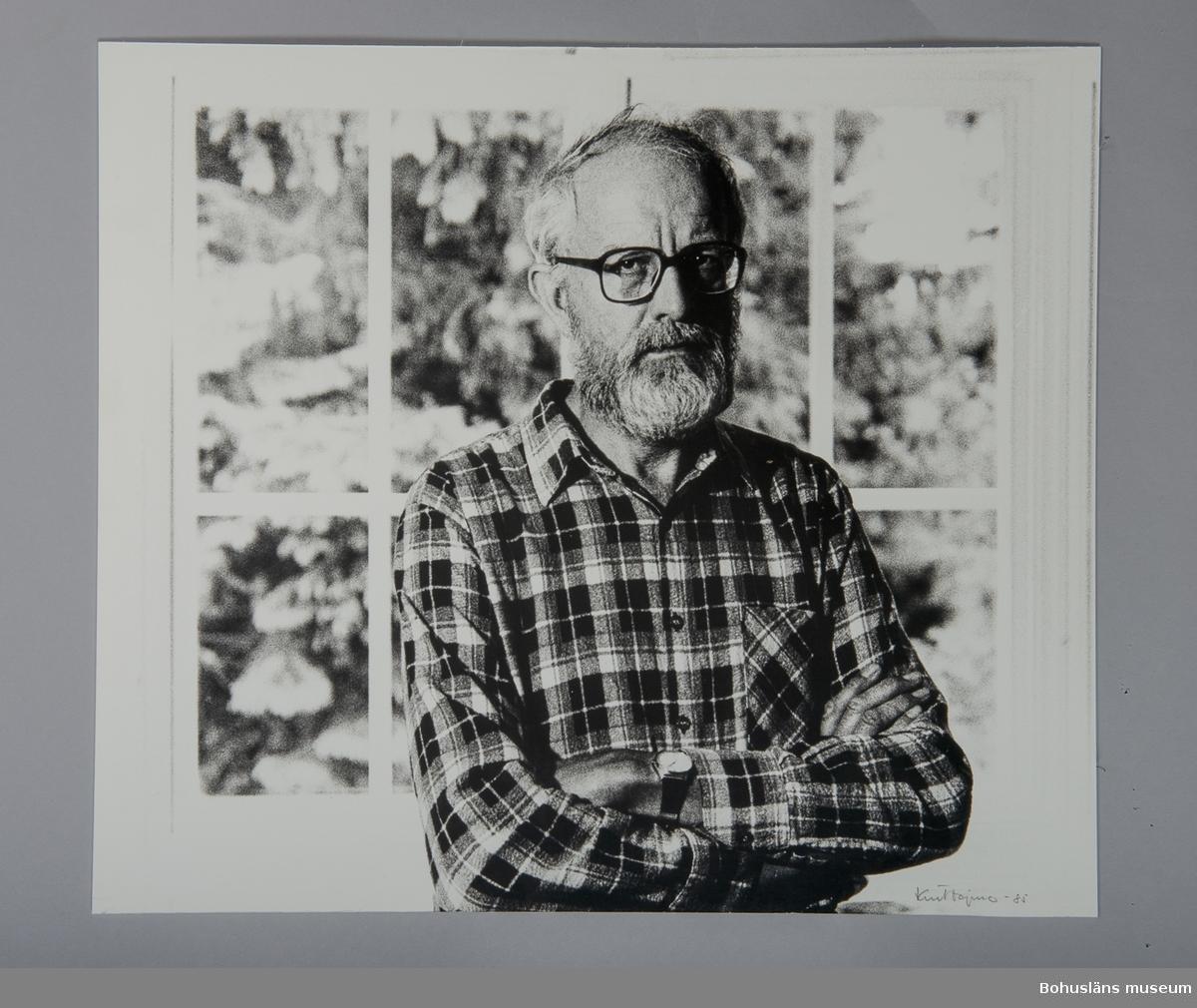 Fotografiskt porträtt Bengt Andersson (1931 - 2008)