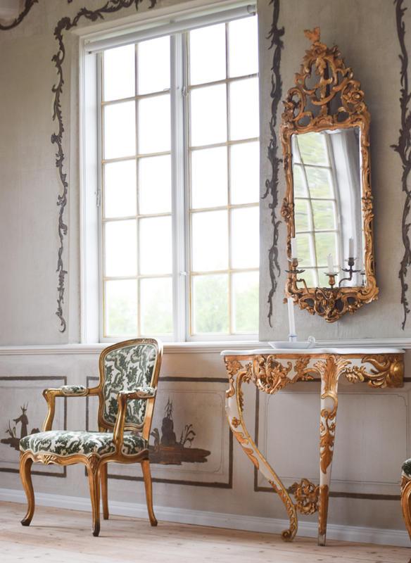 Interior at Linderud Manor