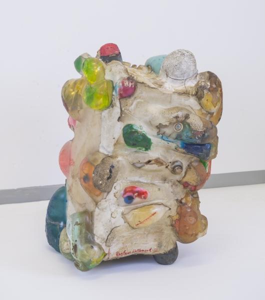 Kjartan Slettemark, Skulptur av hjerne, 1966.