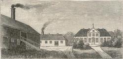 Bygdøy Kongsgård [xylografi]