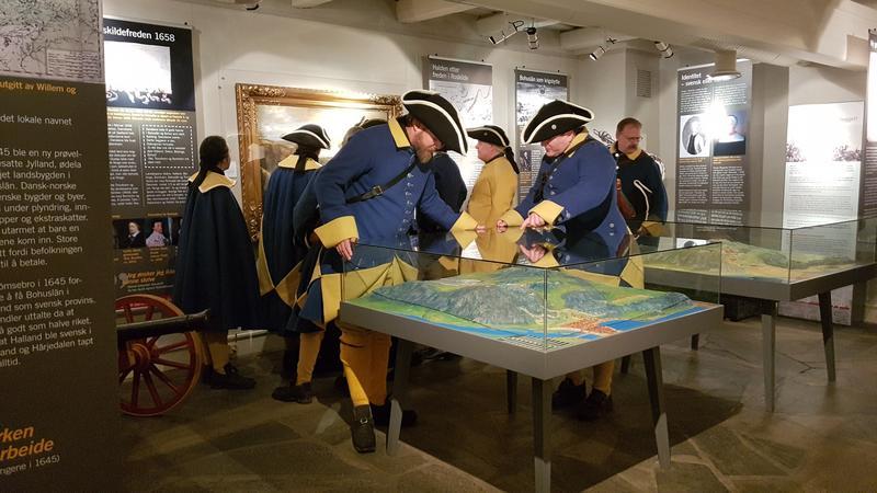 Svenske Karolinere i Fredriksten Museum