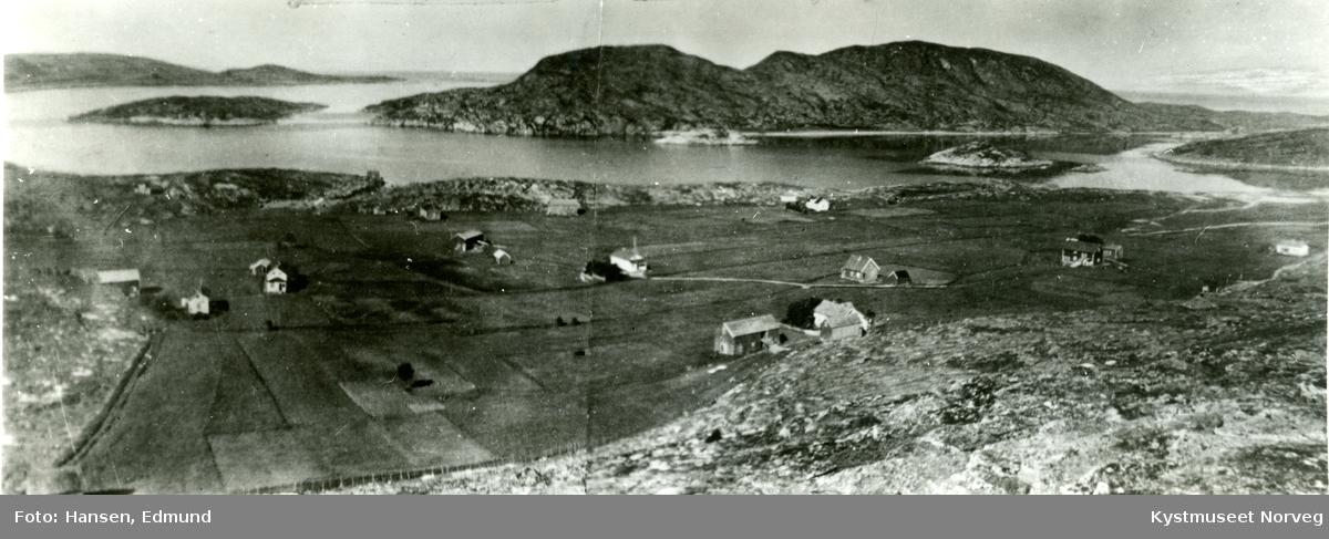 Flatanger, utsikt over Kvaløysæter