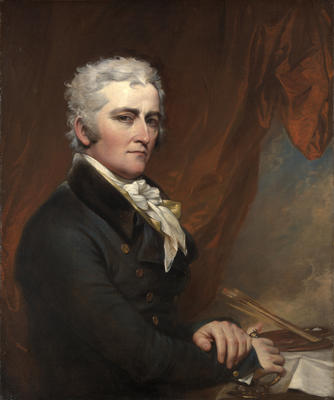Selvportrett av John Trumbull. Malt ca. 1802. Yale University Art Gallery. (Foto/Photo)