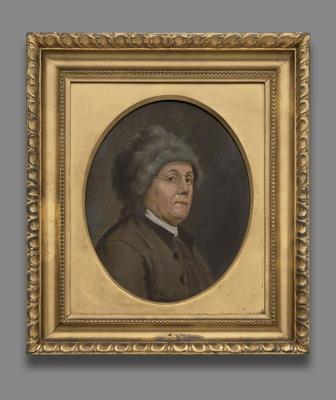 Benjamin Franklin av John Trumbull. Malt 1778. Yale University Art Gallery. (Foto/Photo)