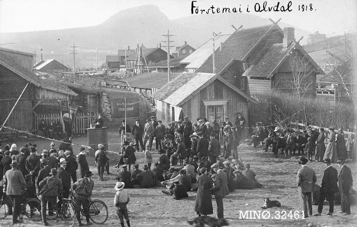 1.mai Alvdal 1918 (Foto/Photo)