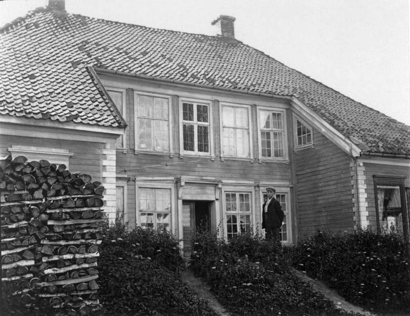 Chrystiegården. Ca 1900 (Foto/Photo)