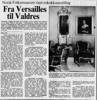 Morgenbladet 1980 (Foto/Photo)