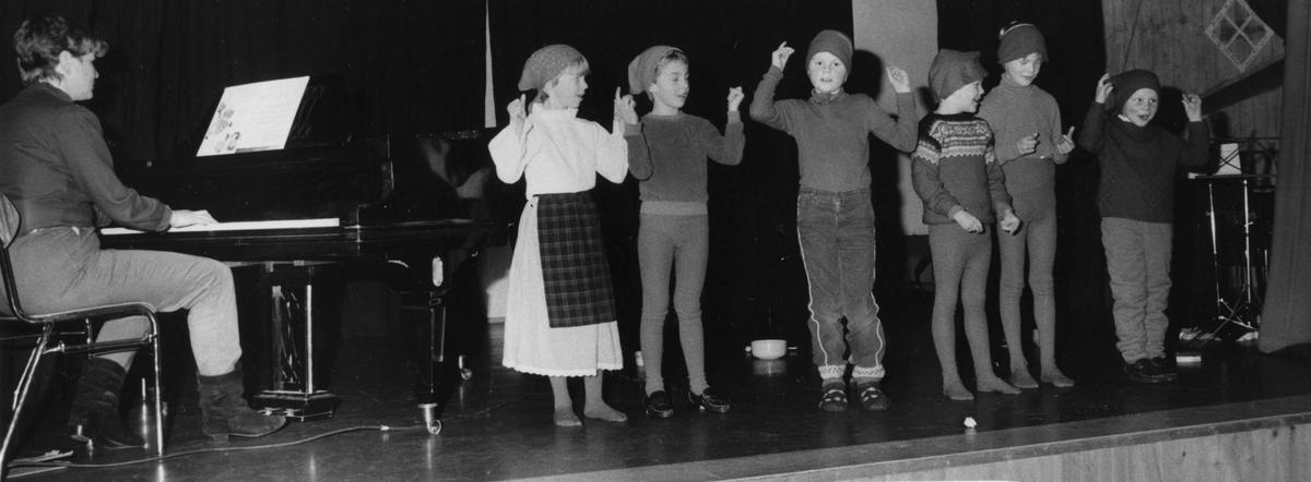 Unge skuespillere og sangere